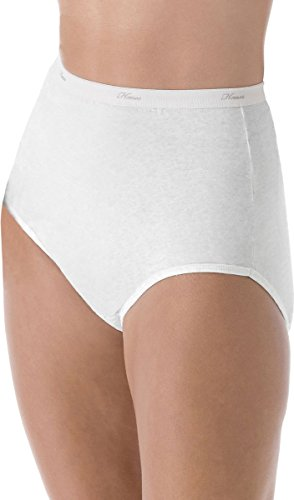 Hanes No Ride Up Cotton Brief (PP40WH) White, 7