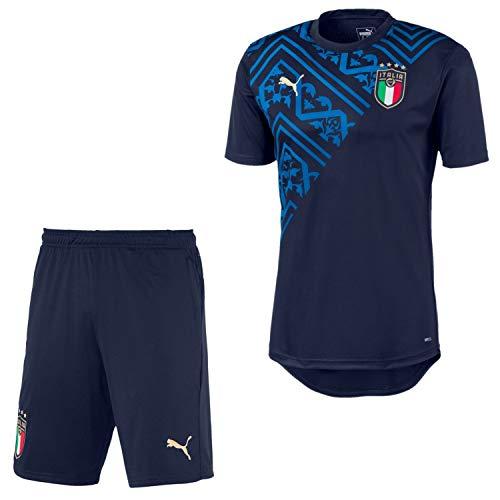 PUMA Italien Trikot + Short im Set Herren WM 2020 (2021), Größe:XXL