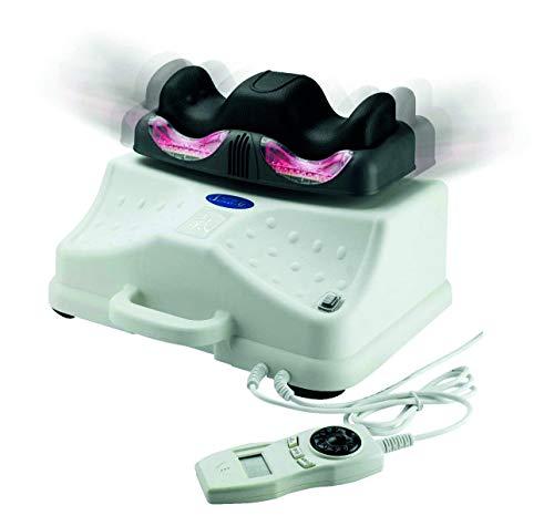 chi-enterprise Chi Vitalizer Deluxe I Chi-Massage-Gerät mit Magnetfeld - Vibration - Infrarot I sehr leise & robust I weich gepolsterte Fuß-Auflage I baugl. Paradigma Royal I Qualitäts-Chi-Gerät