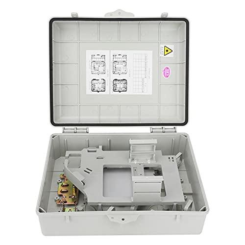Jopwkuin Caja de terminales ópticas, Caja divisoria óptica antirrobo, Industria de Fibra óptica Hogar para terminales ópticas