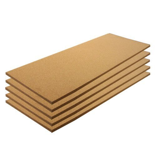 Cork Sheets 12 x 36 Plain 5 Pack, 1/8 thick by Cleverbrand