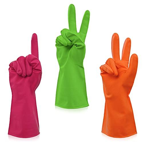 Reusable Rubber Gloves (3-pk)