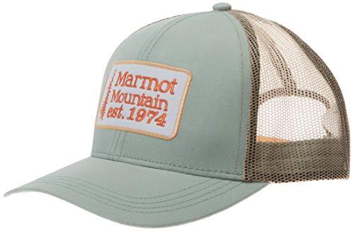 Cappellino con Protezione UV per Esterni Regolabile Sport E Viaggi Unisex Hemp cap Marmot Adulto