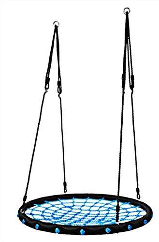 Cuerda de deportes al aire libre hamaca del acoplamiento azul Oscilación de los niños de los niños Net Nido de Pájaro Asiento de columpio El columpio El columpio cubierta cubierta Gimnasio Sistemas y