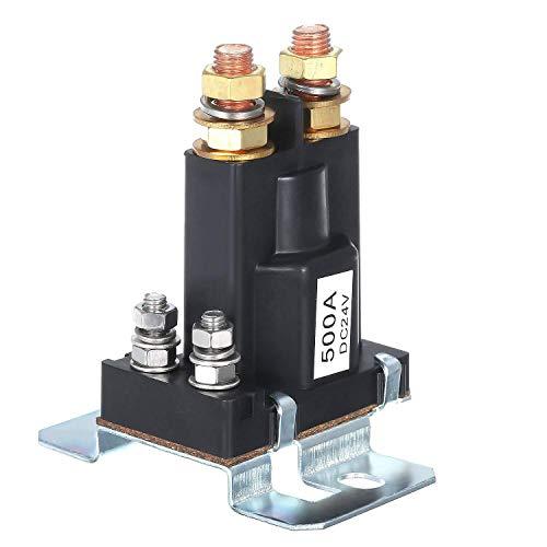 LIPENLI Coche relé 24V 500A, Grandes células DC Actual del relé de Doble aislador Carretilla elevadora contactor del Motor