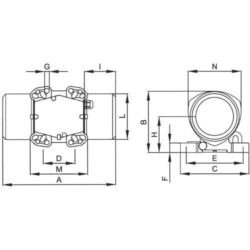 Netter Vibration Vibrator Elektro Externe Neg 5050230