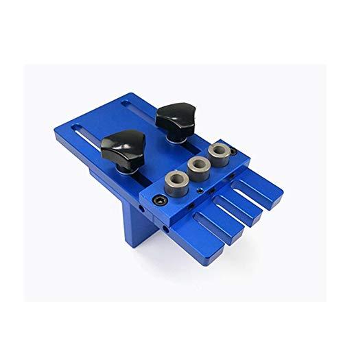 LF&LQEW 1 Juego 08450 3 en 1 Perforación Perforación Localizador Herramienta de la carpintería Guía Kit de Bricolaje carpintería Carpintería de Alta precisión Pasador Las Plantillas Kit