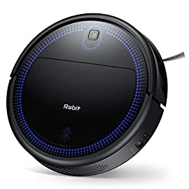"""Robit v7s pro robot vacuum cleaner, upgraded 2000pa strong suction, ultra-thin, drop sensor, quiet, self- charging… 1 🐱 enhanced 2000pa strong suction: with the most advanced powerful motor, robit v7s pro robot vacuum has a 2000pa intense suction, easily picking up dust and hair even from hard floor and carpet. 3 stage cleaning system provided meets any various demands, you can choose whichever you like. 🐶 slim body & super quiet: applying unique high quality nidec brushless motor, this robot vacuum cleaner is endowed with mini noise while cleaning, so you can enjoy yourself with no disturbance. Only 3. 1"""" height makes it easy to freely glide under the bed, the sofa or the table , and all the hidden dust can be swept away. 🐹 schedule a cleaning : delivered by a time reservation, this robot vacuum pet can work perfectly as scheduled and multiple cleaning modes generates a customized cleaning routine."""