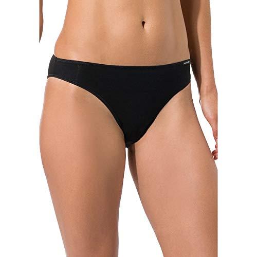 Skiny Damen Essentials Rio Brazilian Slip, Schwarz (Black 7662), 38