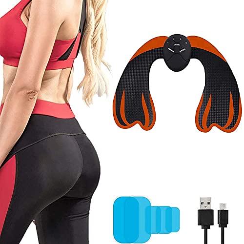 Electroestimulador Muscular Gluteos,EMS Gluteos Estimulador,6 Modos y 9 Niveles de Intensidad,Ayuda a Levantar, Dar Forma y Fijar los Glúteos, para Glúteos, Entrenamiento de Piernas