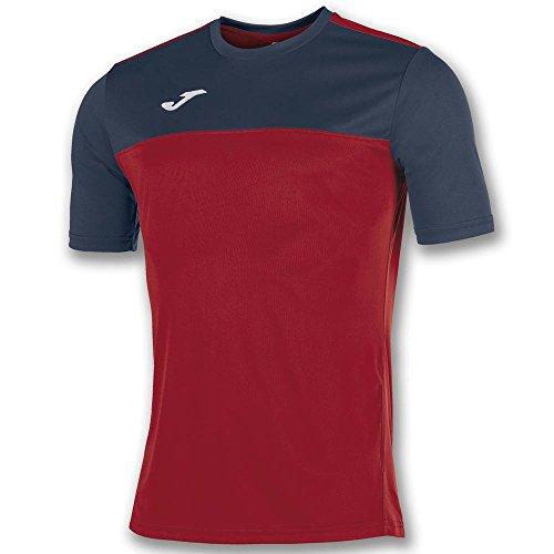 Joma Winner M/C Camiseta Equipamiento, Hombre, Rojo/Marino