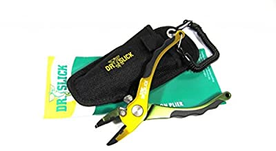 """Dr. Slick Typhoon Plier 6.5"""" Aluminum Frame (Comes with Replacement Cutters & Jaws)"""