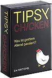 Tipsy Chicken, Party-Kartentrinkspiel, Unverschämt Lustige Aufgaben für Euren Spieleabend