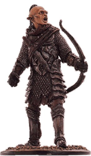 Lord of the Rings Figurine Collection Nº 49 Orc Archer