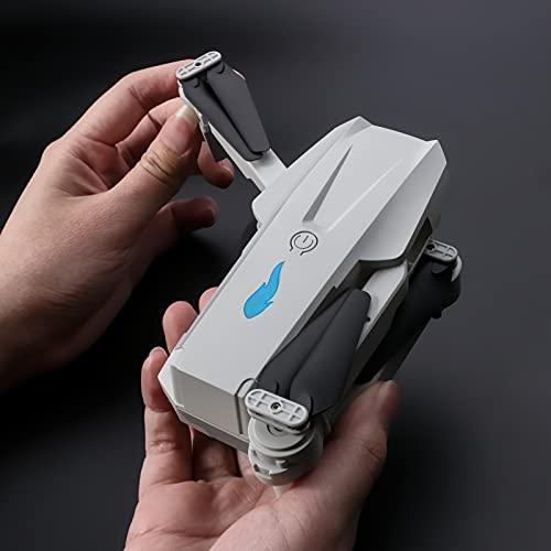 Goolsky S89 RC Drohne mit Kamera 4K WiFi FPV Drohne Mini Klapp Quadcopter Spielzeug für Kinder mit Schwerkraftsensor Steuerung Headless Mode Geste Foto Video Funktion