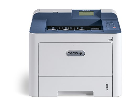 Xerox Phaser 3330dni Wireless A4 Mono Laser Printer with Duplex 2-Sided Printing, White Blue