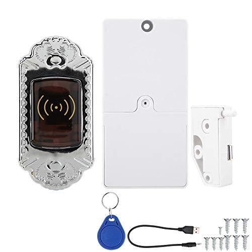 Sonew Contraseña electrónica de la inducción de la cerradura del gabinete de la tarjeta de la cerradura del gabinete de la tarjeta de la cerradura de inducción