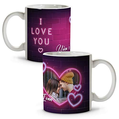 Tazas de Café Originales Personalizadas con Frase/Nombre. Regalos San Valentin Personalizados. Tazas...
