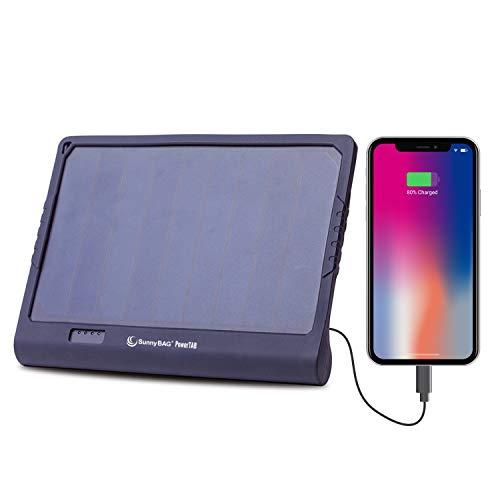 Sunnybag POWERTAB Solar oplader met sterke 22,200mWh capaciteit accu | Premium Solar oplader met powerbank voor smartphone, tablet, notebook enz.