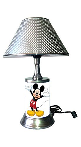 Mickey Mouse Lamp with Shade