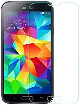 Galaxy S5 Glass Screen Protector eTECH Collection Crystal Clear Tempered Glass Screen Protector product image