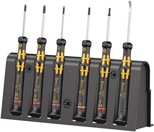 Wera 05030182001 Kraftform Micro 6 1 ESD Smartphone Reparaturset, 6-teilig