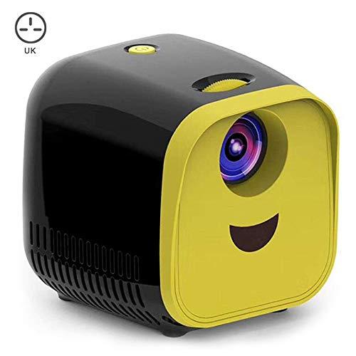 Wodeni Mini proyector portátil LED con WiFi, 1080p Full HD, proyector de cine en casa, color negro