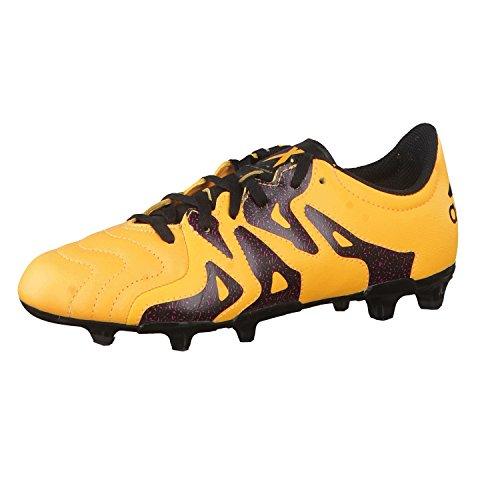 adidas Unisex – Bimbi 0-24 X 15.3 Fg/AG J Leather Scarpe da Calcio Multicolore Size: 35 1/2