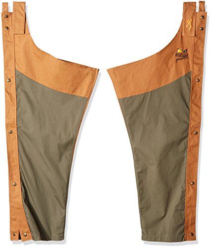 Browning Pheasants Forever Chaps, Upland Field Tan, Medium-Regular