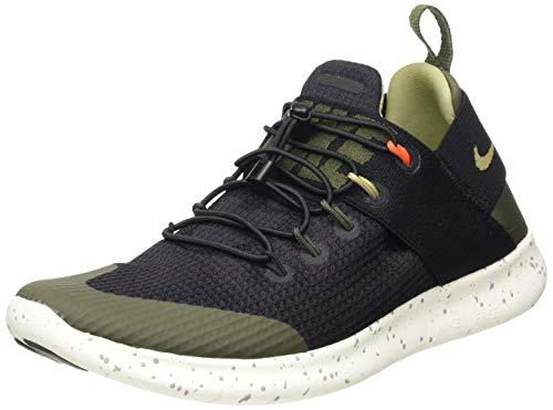 Nike Damen W Free Rn CMTR 17 Utility Laufschuhe, Mehrfarbig (Black/Neutral Olive-001), 39 EU