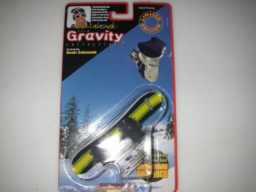 Gravity Finger Snowboard - Guy Rider by