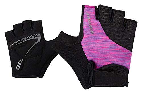 Ziener Kinder CANIZO junior Bike Glove Fahrrad-handschuh, rosa (fuchsia melange), S