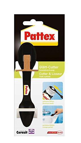 Pattex Glätt-Cutter / Vielseitiges Fugenwerkzeug für Fliesen / Einfaches Glätten und Entfernen von Fugenmasse / 1er Pack