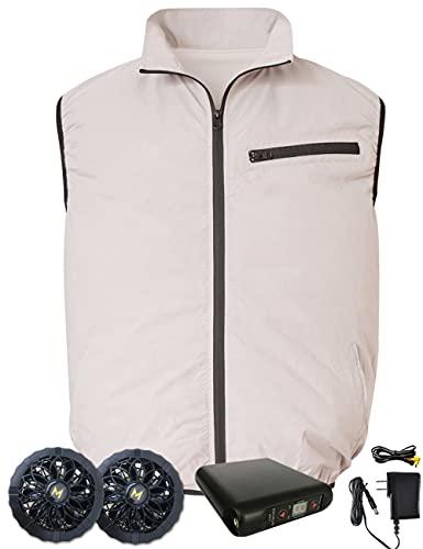 MASTORE 空調服 ベスト バッテリー ファン 作業服 セット 空調作業服 空調ふく服 ワークマン 夏 ワークウェア ファン服 2021年