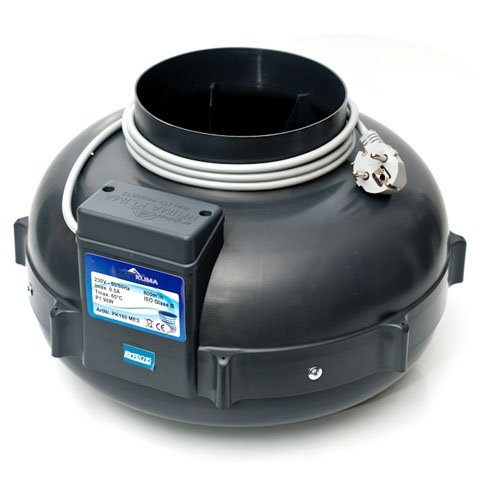 Extractor de aire UFO RVK Prima Klima 800 m³/h 160mm (PK160 MES)