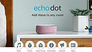 Echo Dot  3rd Gen  - Smart speaker with Alexa - Plum