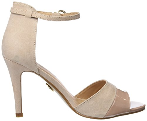 Buffalo Shoes IMI SUEDE PAT PU, Sandalen, Beige - 6