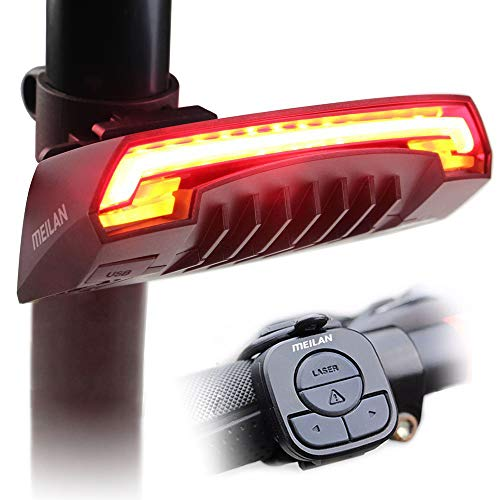 MEILAN X5 Smart Bike Tail Light with Turn Signals