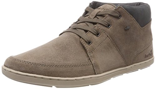Boxfresh Herren CLUFF Hohe Sneaker, Braun (Silver Mink SVR Mnk), 43 EU