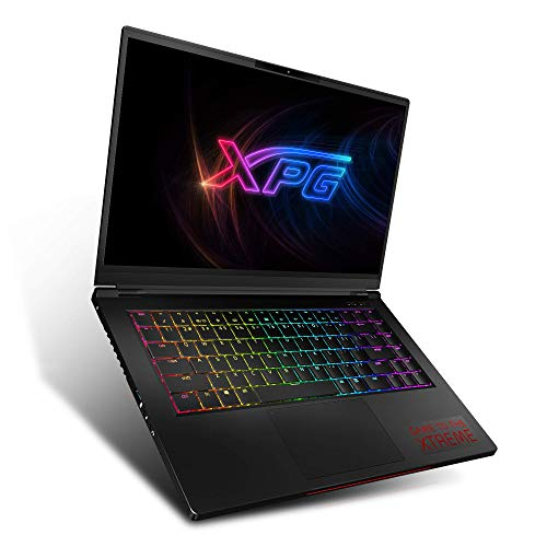 "XPG XENIA Notebook-Laptop Gaming de 15.6"" NVIDIA GEFORCE GTX 1660Ti Intel Core I7-9750H, RAM 32 GB XPG DDR4 2666Mhz, SSD XPG SX8200 PRO 1 TB , Teclado Mecánico RGB, Color Negro"
