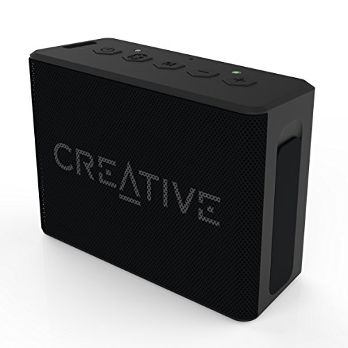 Creative Labs Muvo 1C - Altavoz portátil con Bluetooth, Color Negro
