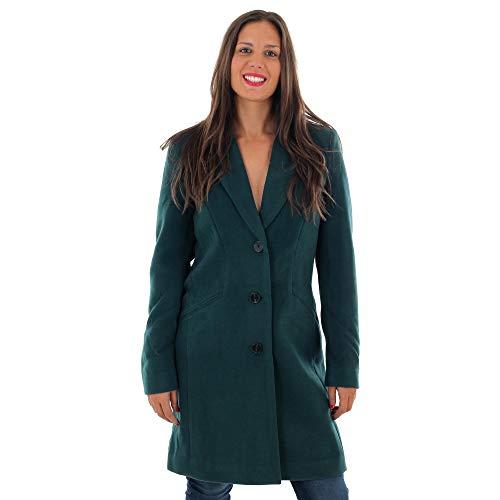 VERO MODA Damen VMCALA Cindy AW19 3/4 Jacket BOOS Mantel, Grün (Ponderosa Pine Ponderosa Pine), Small (Herstellergröße: S)