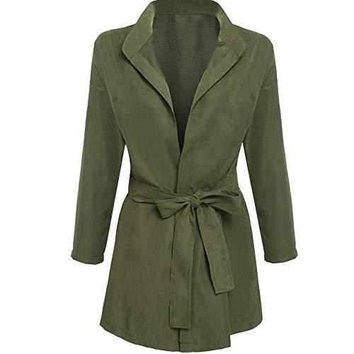 Nvfshreu dames trenchcoat lange mouwen staande kraag jas slim elegant fit mode comfortabele maten nonchalant normale lak lente herfst outwear jas met riem