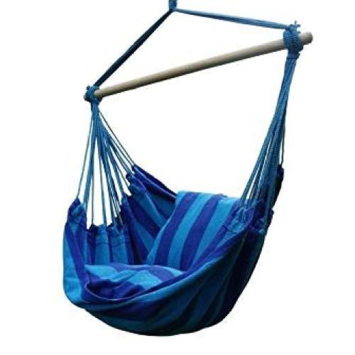 Home+Swing Chair Schaukel Langlebig Hängesessel Hängesessel Schaukel Sitz Mit 2 Kissen Für Indoor Outdoor Garten Verwenden @ Orange