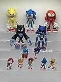 Modelo mano 12 unids / set Sonic Boom Rare Dr Eggman Shadow figuras de acción de juguete Pvc juguete Sonic Shadow Tails personajes figura juguetes para niños