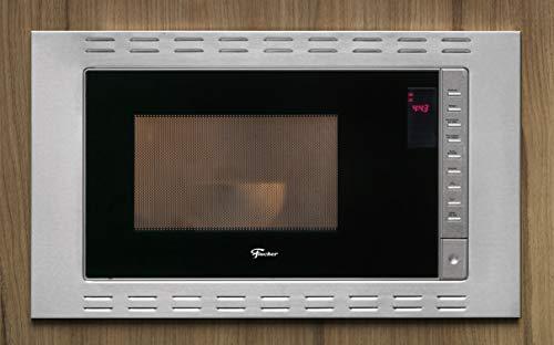 Forno Micro-ondas Fischer Fit Line Embutir 25L Inox 127V