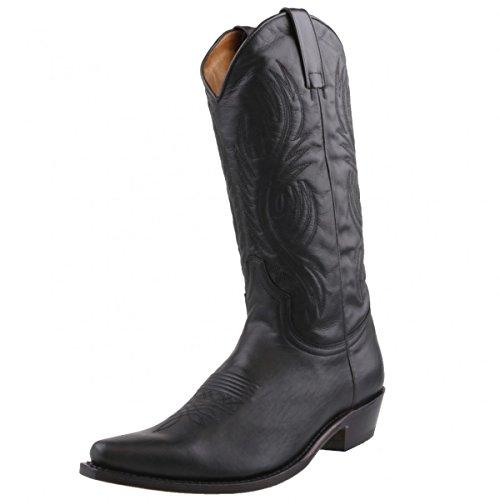 Sendra Boots, Stivali uomo Nero nero, Nero (nero), 45
