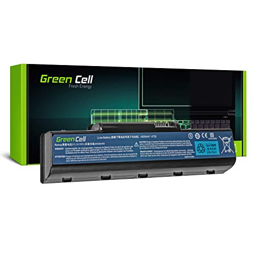 Green Cell Standard Series AS09A31 AS09A41 AS09A51 AS09A71 Battery for Acer/eMachines/Packard Bell/Gateway Laptop (6 Cells 4400mAh 11.1V Black)