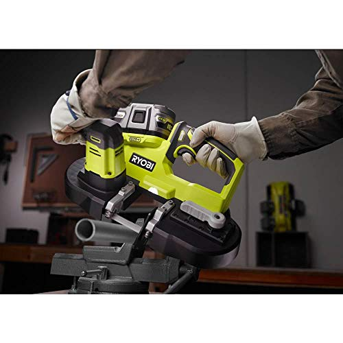 Ryobi 18-Volt ONE+ Cordless 2.5 in. Portable Band Saw (Tool Only) P590, (Bulk Packaged, Non-Retail Packaging)