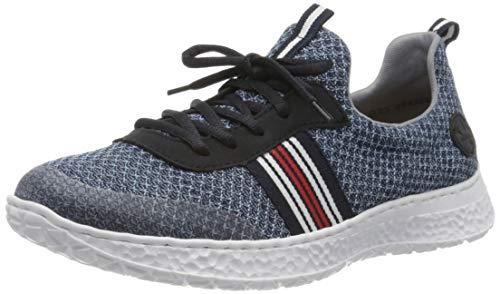 Rieker Damen Frühjahr/Sommer N4153 Sneaker, Blau (Clear/Mare/Pazifik/ 14 14), 38 EU